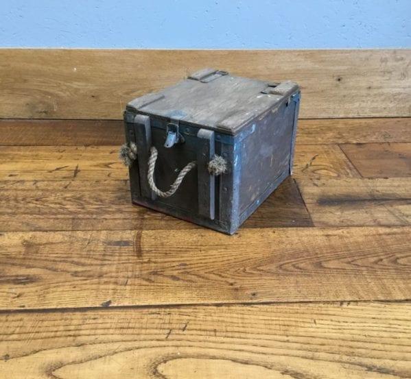Wooden Ammo Box