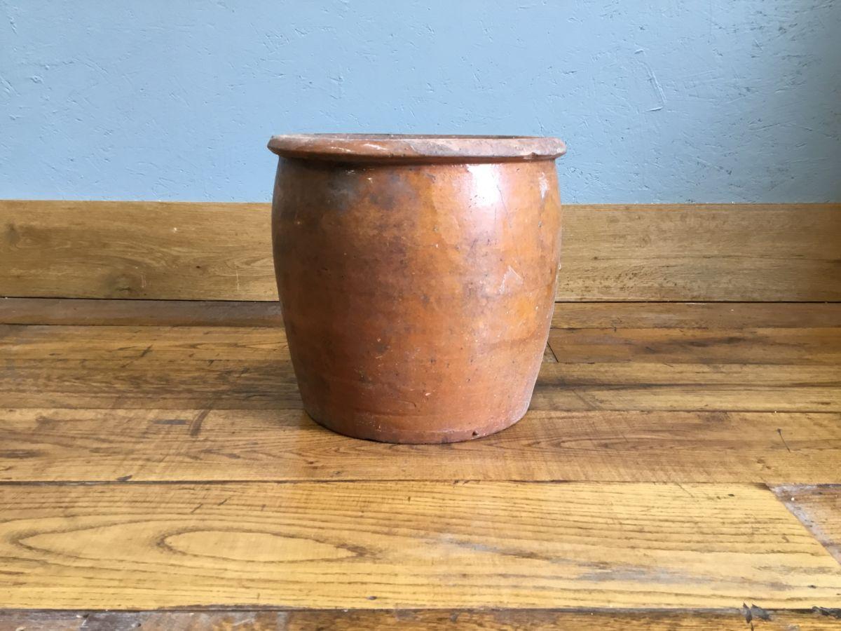 Glazed Terracotta Pot