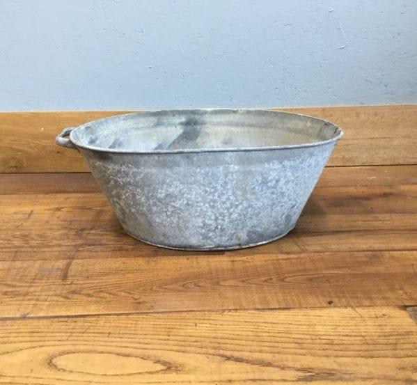 Galvanised Tin Bath
