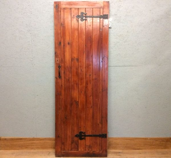 L & B Varnished Door