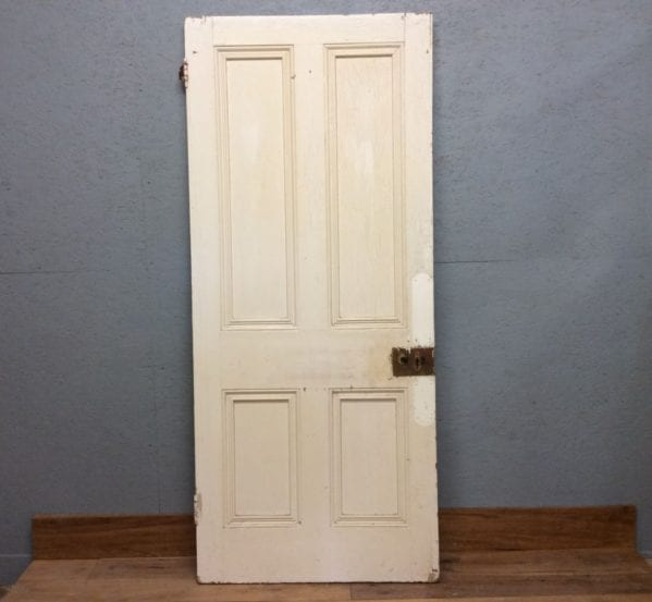 Large White 4 Panelled Dooor