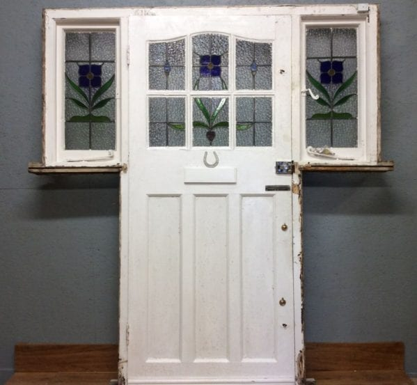 Stained Glass Front Door & Frame