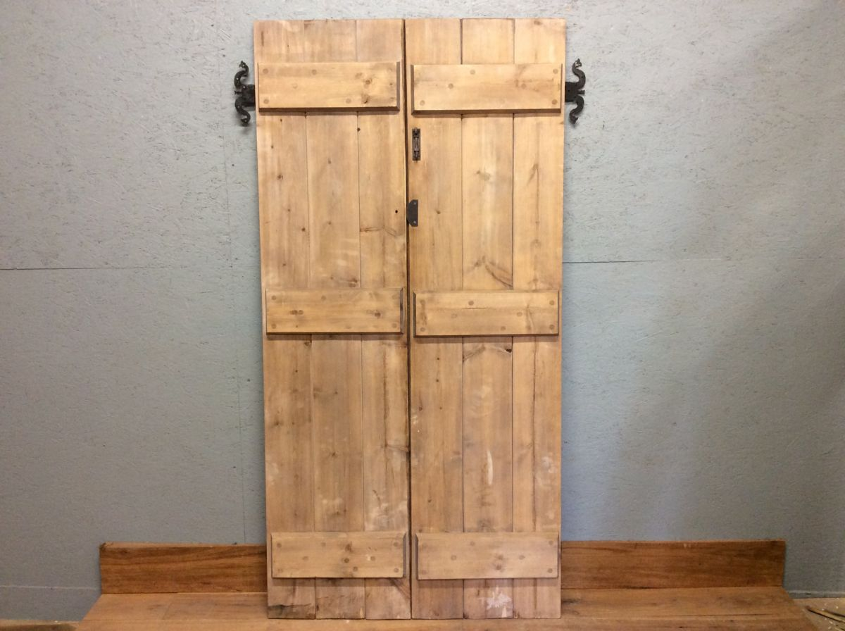 Ledge & Brace Cupboard Doors