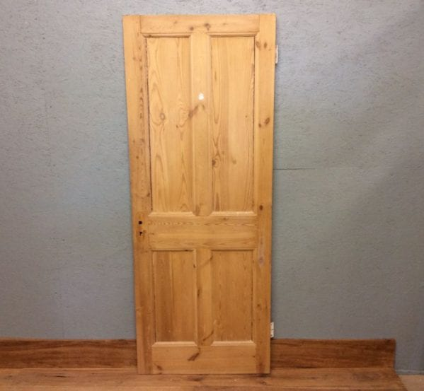 Reclaimed Stripped Beaded 4 Panel Door