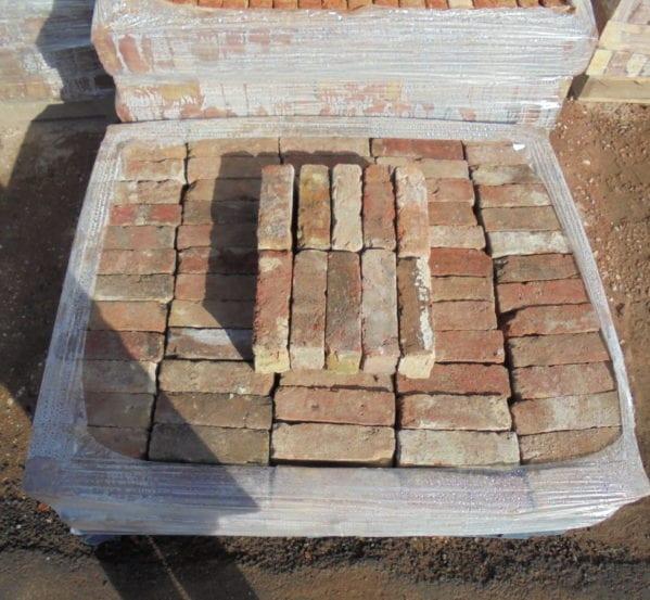 Reclaimed Red Faced Stock Bricks