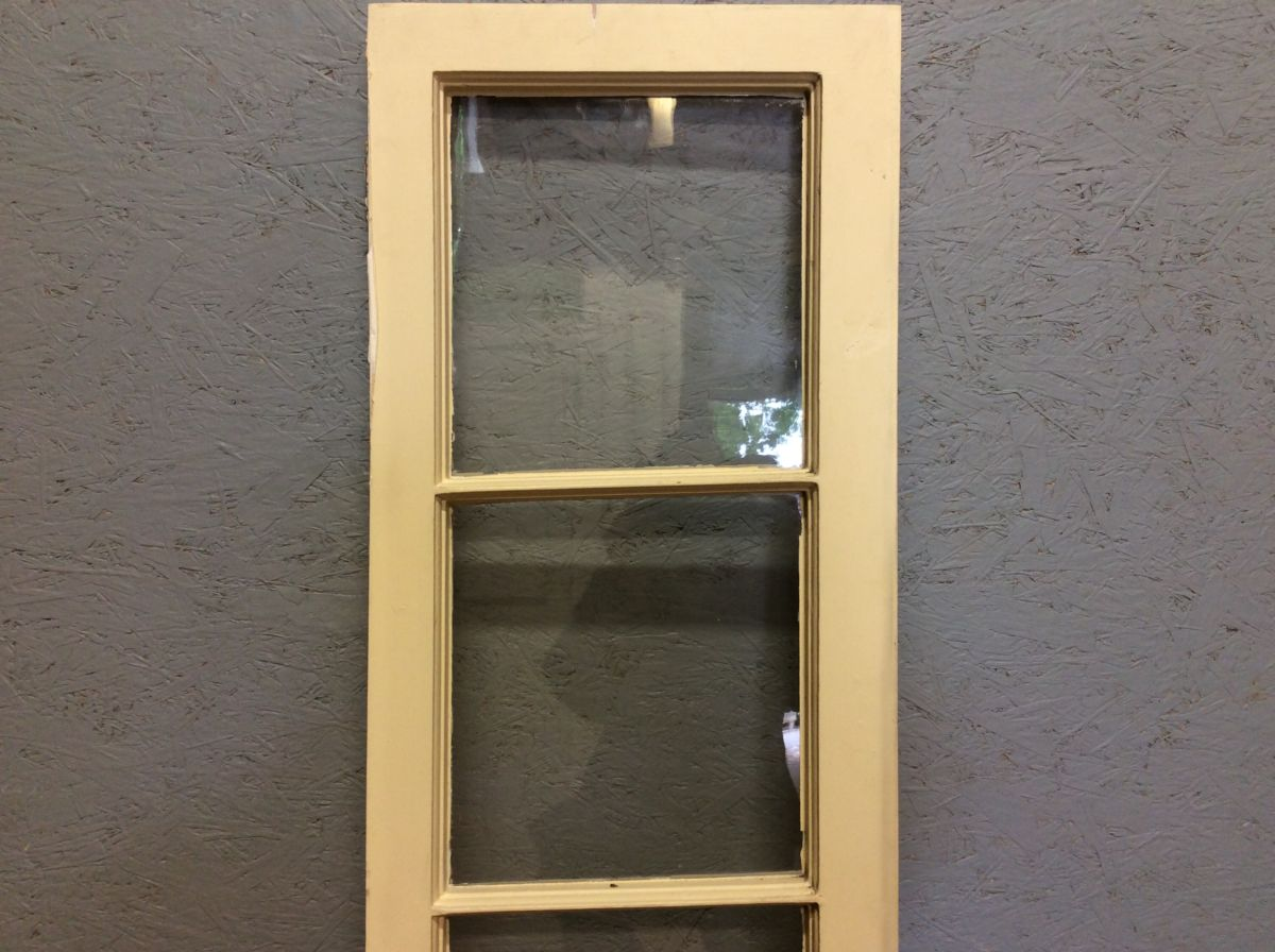 Beige Window Panes