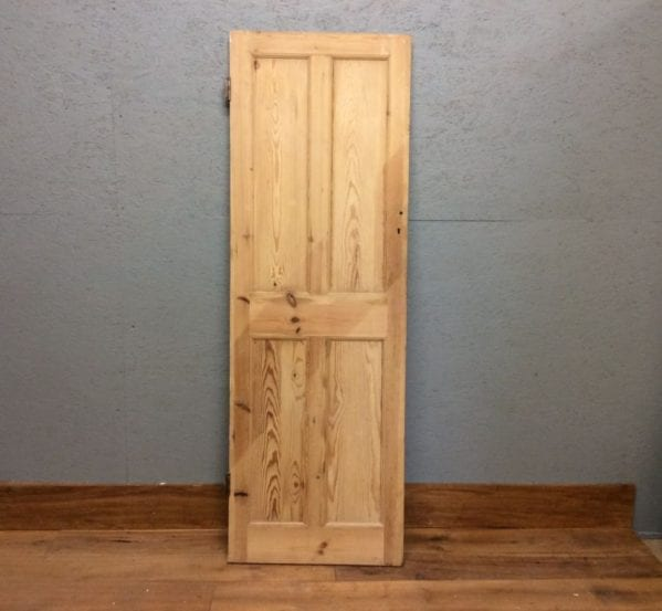 Tiny Stripped 4 Panelled Door