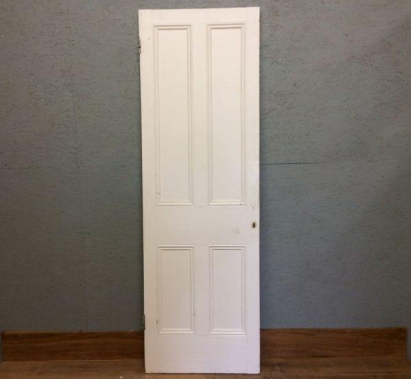 Tall White 4 Panel Door
