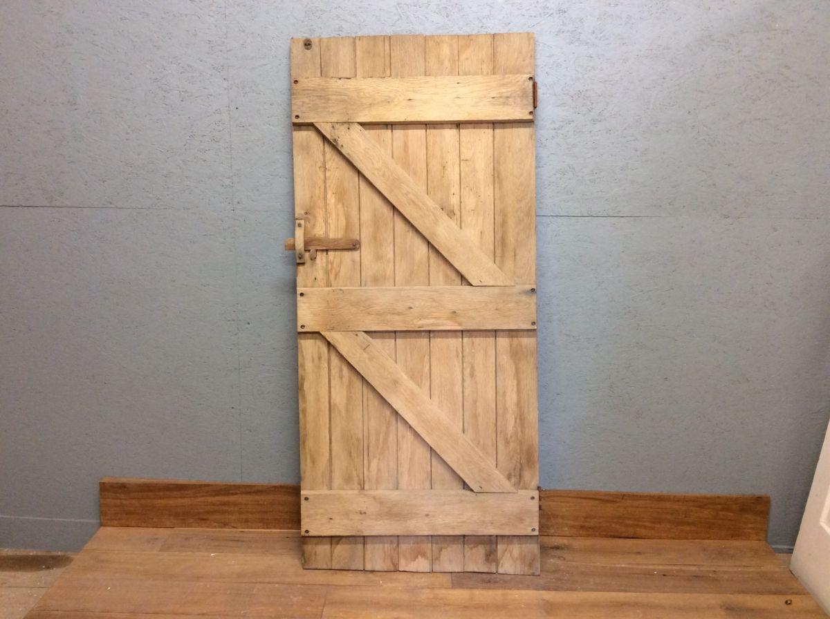 Weathered Ledge & Brace Door