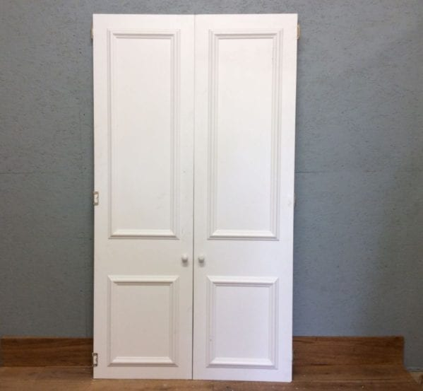 Cupboard Double Doors White`