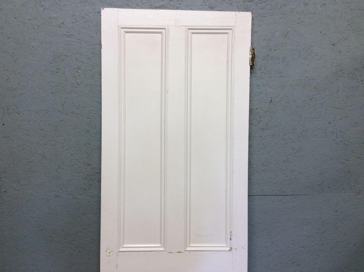 Tall 4 Panel Door in White
