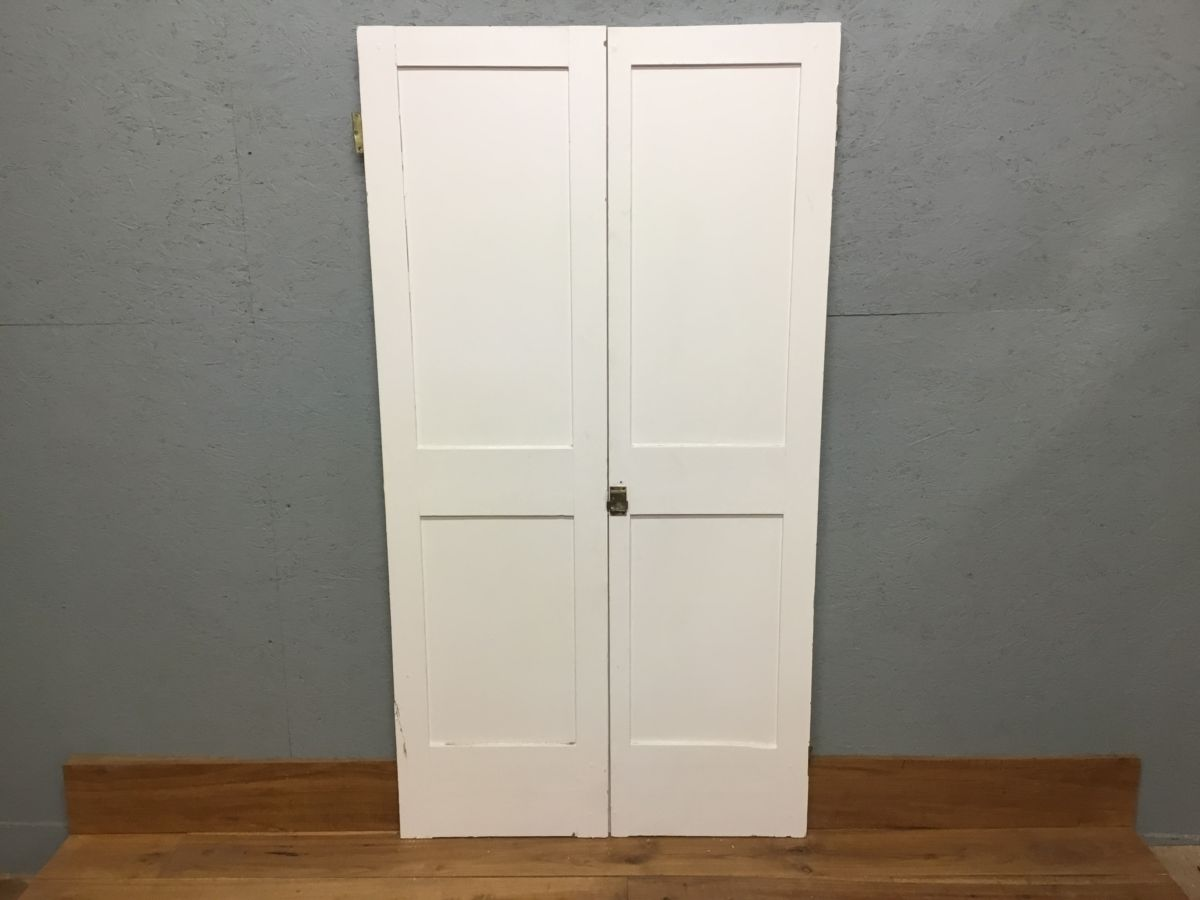Small 2 Panelled Double Doors
