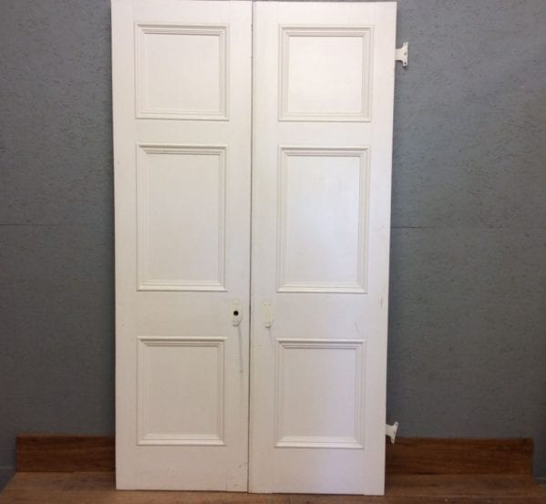 Tall 3 Panelled Double Doors
