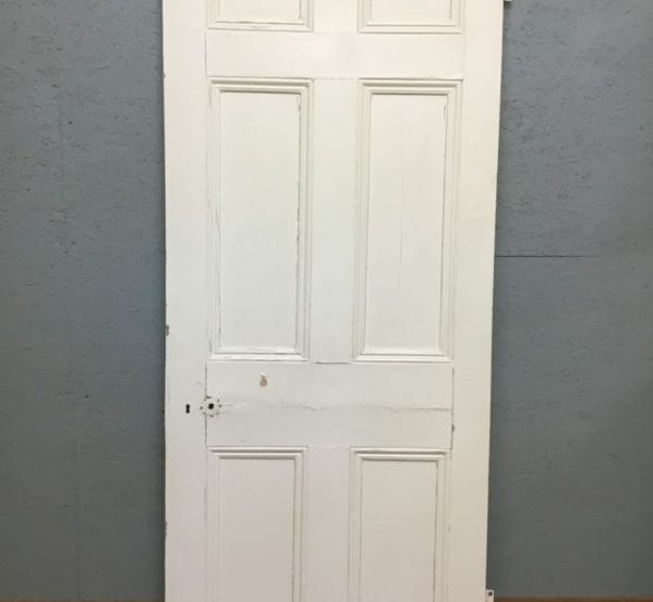 Fully Beaded Painted 6 Panel Door