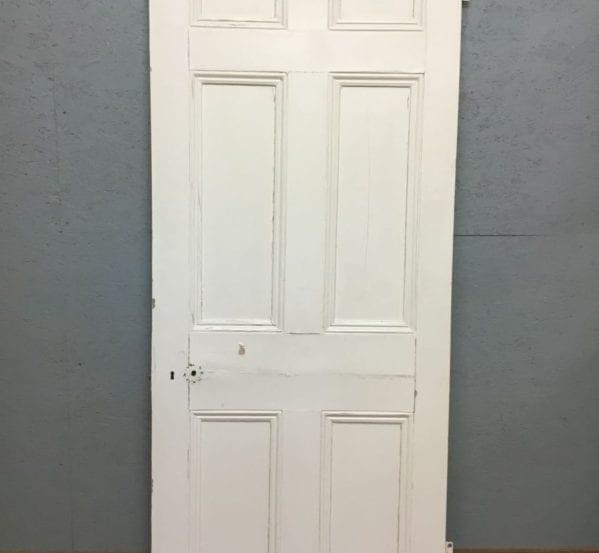 Fully Beaded Painted 6 Panel Door