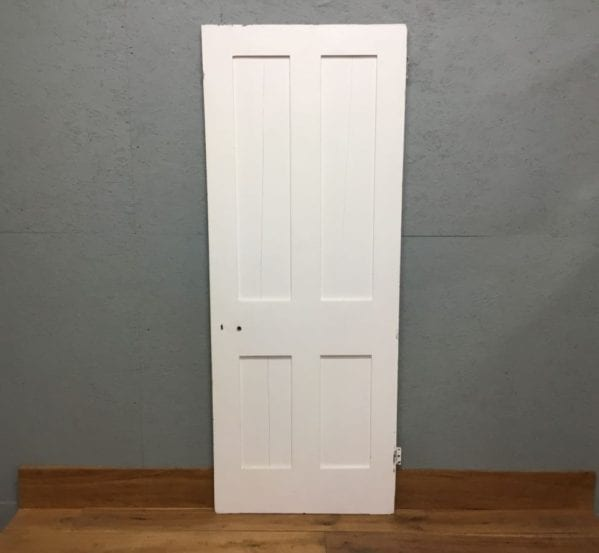 Reclaimed Four Panelled Painted Door