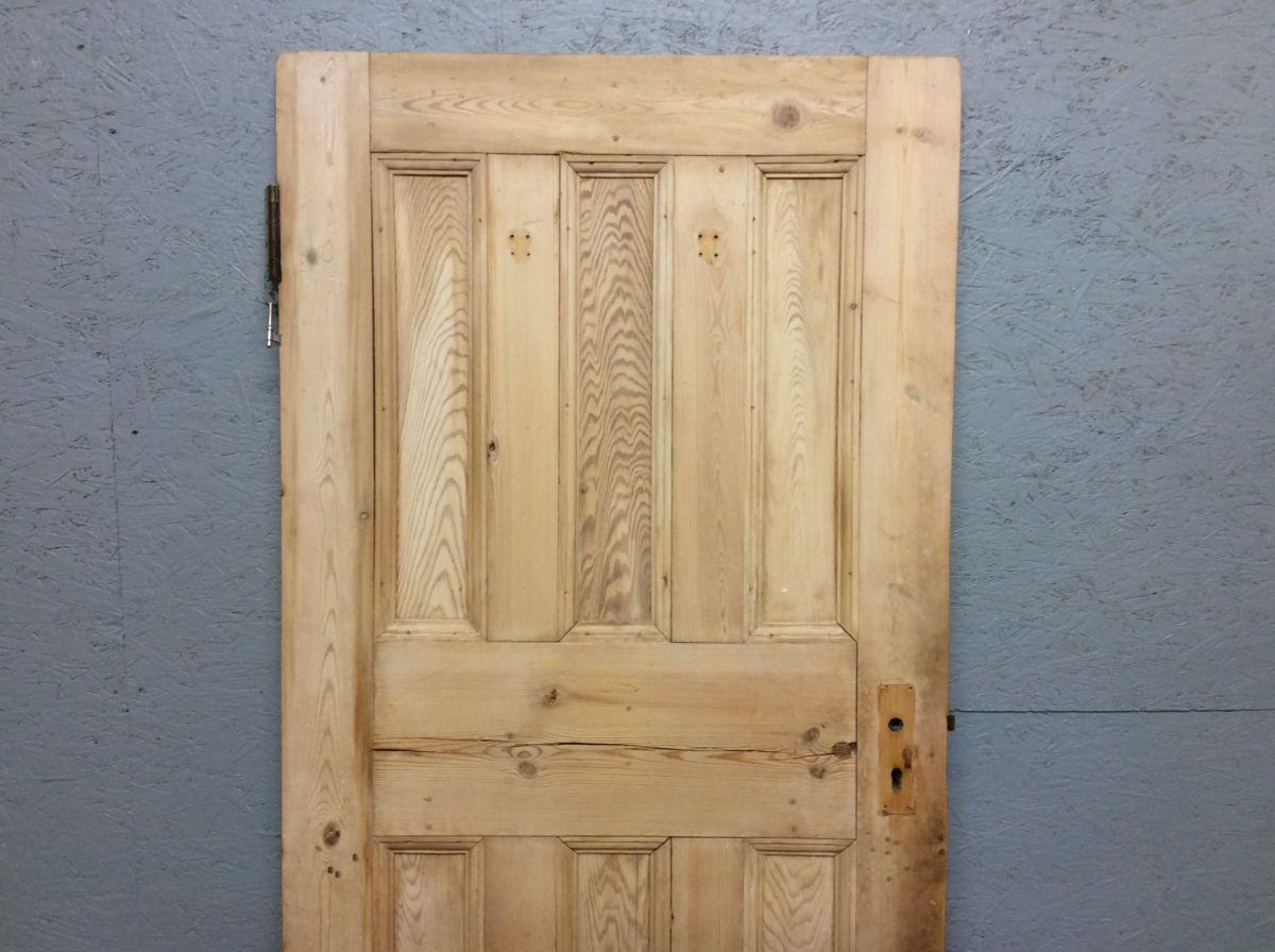 Stripped 3 Over 3 Door & Key