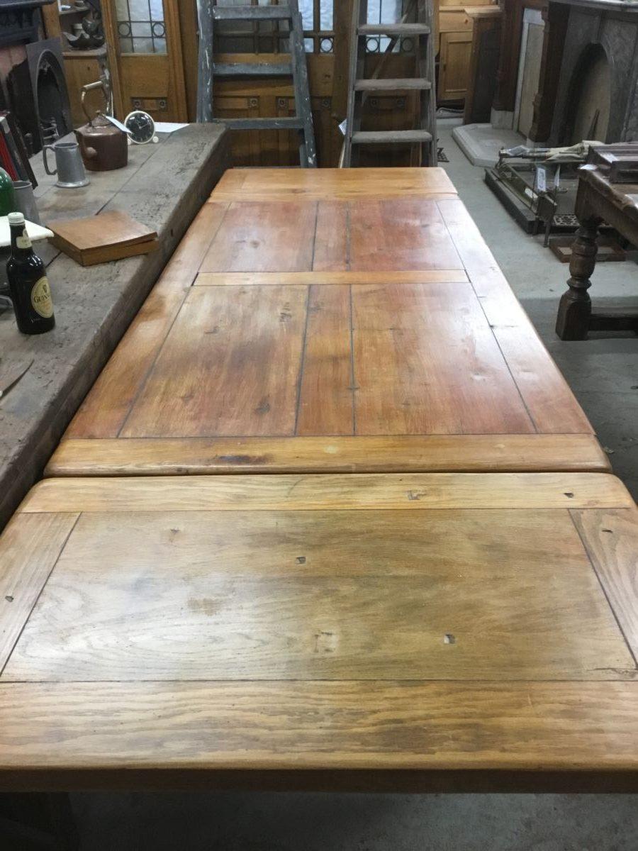 Light Oak Drop Leaf Table