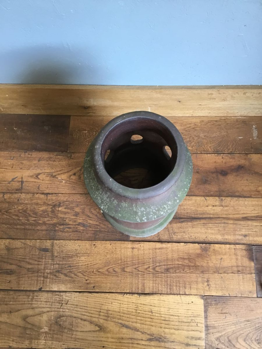 Brown Glazed Chimney Pot