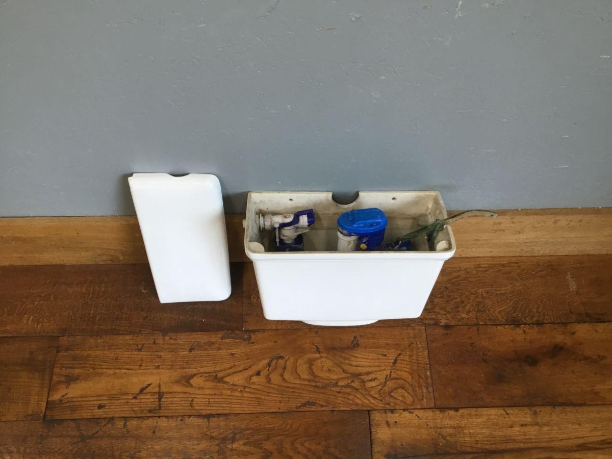 Plain White Cistern