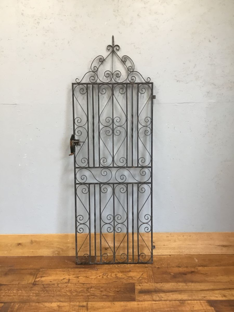 Single Scroll Tall Gate