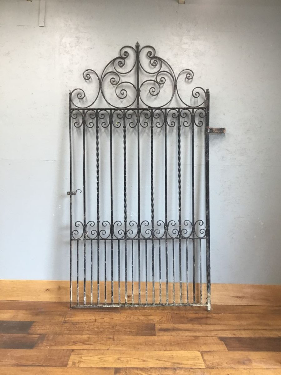 Huge Iron Scroll Gate