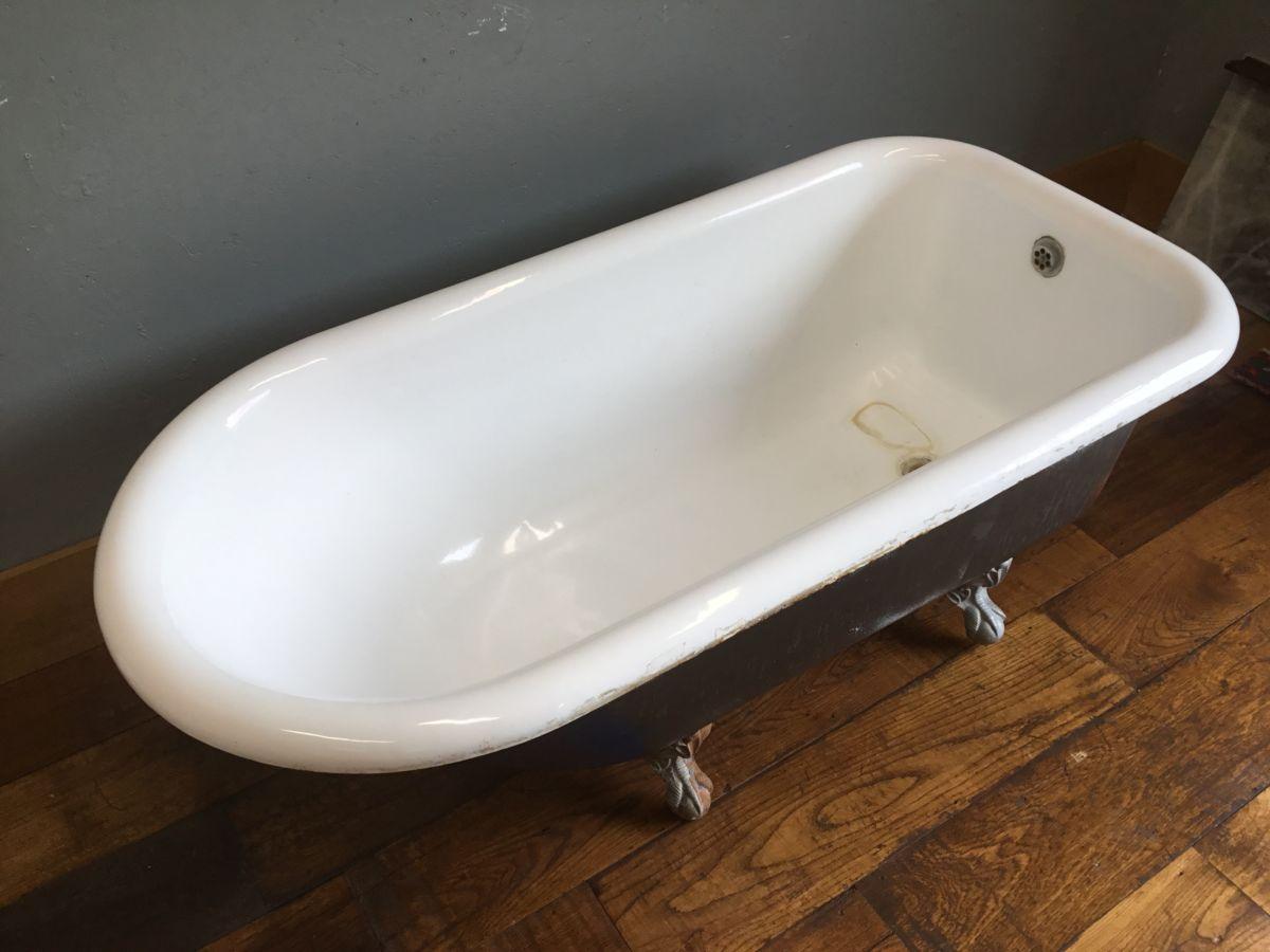 Short & Wide Cast Iron Bath