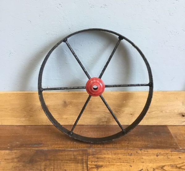 Black & Red Wheel
