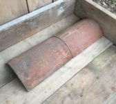 Reclaimed Half Round Ridge Tile