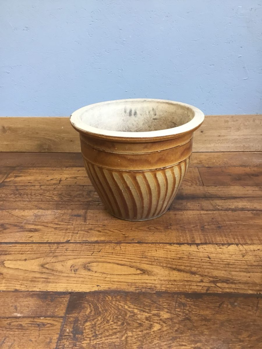 Large Brown Plant Pot