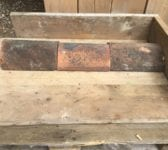 Weathered Hogback Roof Fitting