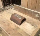Handmade Reclaimed Ridge Tile