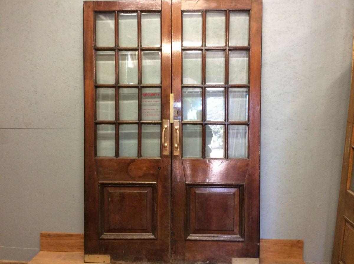 Tall Reclaimed Selfridges Half Gazed Doors