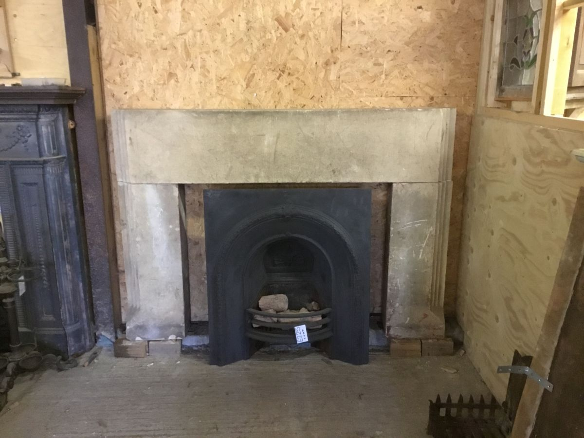 Large Stone Fire Surround