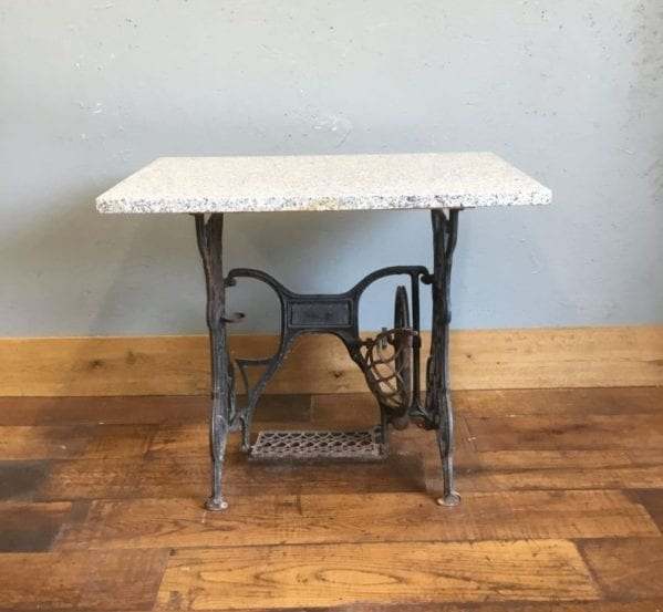 Singer Sewing Table Marble Top