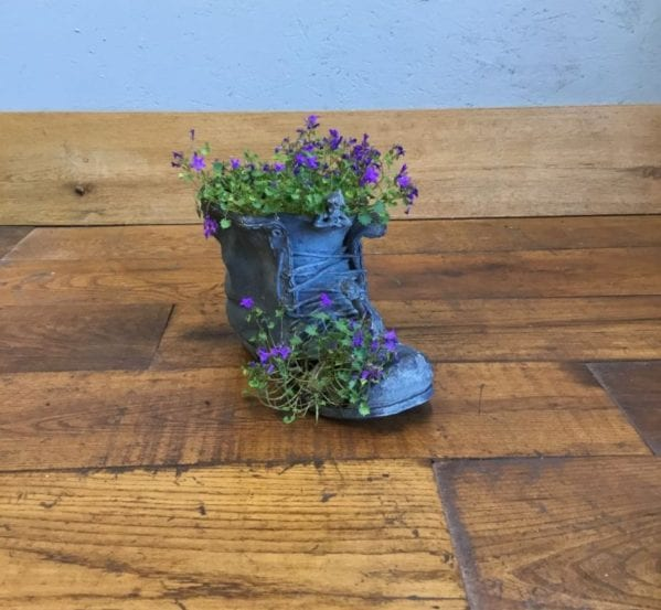 Fairy Boot Planter