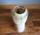 Buff Louvred Chimney Pot
