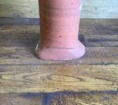 Terracotta Rectangular Base Frill Detail Chimney Pot