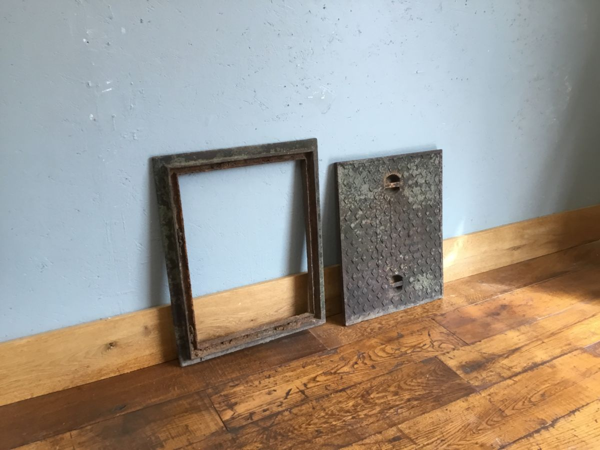 Iron Drain Cover & Frame