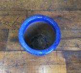 Deep Blue Pot