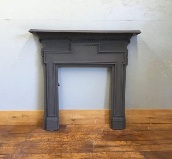 Black Cast Iron Fire Surround