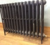 4 Bar Reclaimed Medium Height Radiator