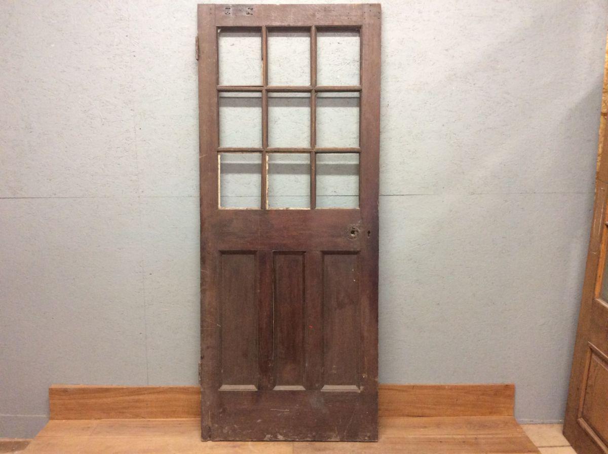 Half Glazed Oak Door (no glass)