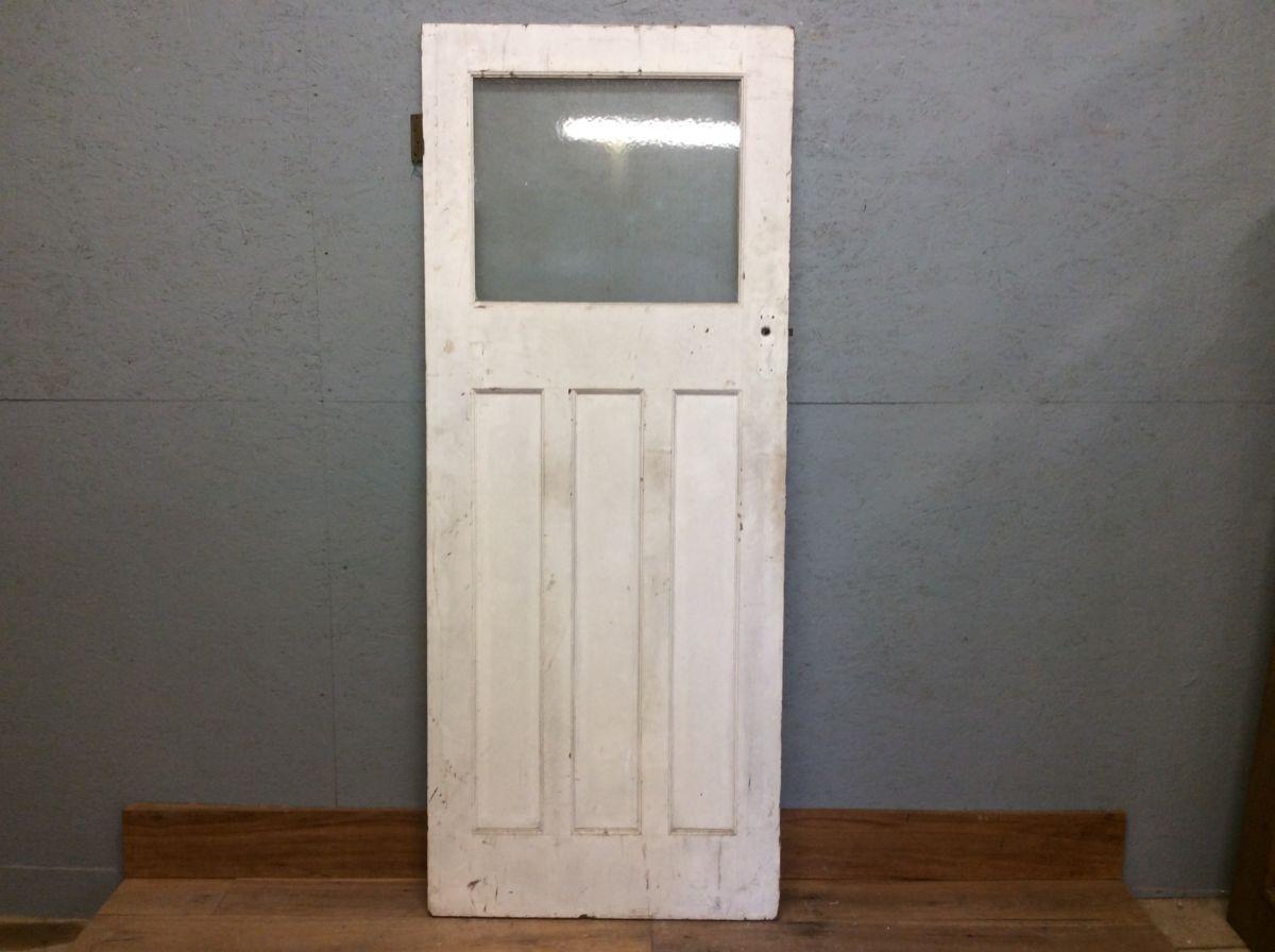1 Over 3 Half Glazed Door