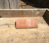 Pressed Clay Orange Reclaimed Ridge Tile
