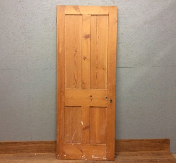 Stripped 4 Panel Door