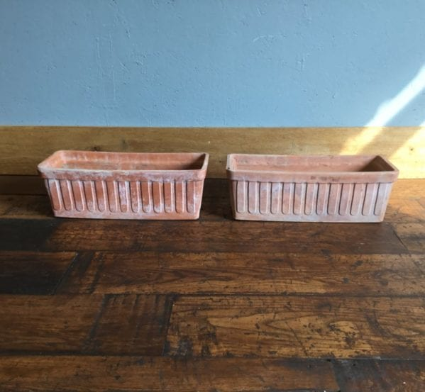 Terracotta Windowsill Planters