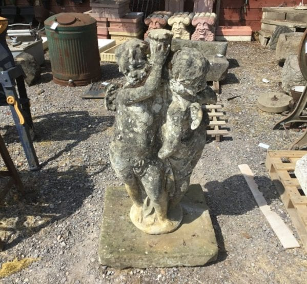 Reclaimed Damaged Stone Statue