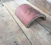 Half Round Reclaimed Pressed Clay Fitting
