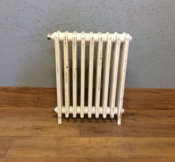 Mid-height White 4 Bar Radiator